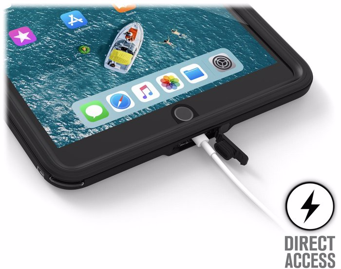 Catalyst Waterproof Case for iPad Air 10.5 (2019). Stealth Black