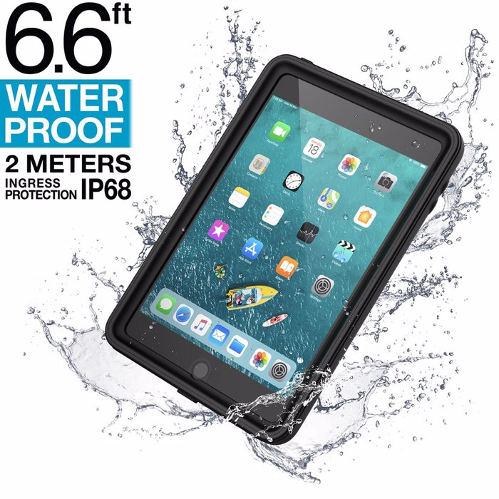 Catalyst Waterproof Case for iPad Mini 5 (2019). Stealth Black