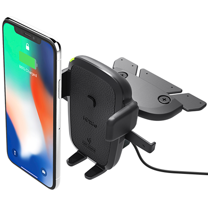 iOttie Easy One Touch Wireless Fast Charger / CD Slot Mount