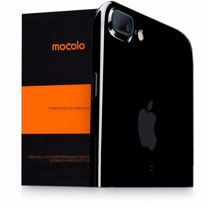 Mocolo TG+ Tempered Glass ga iPhone 8/7 Plus Camera Lens