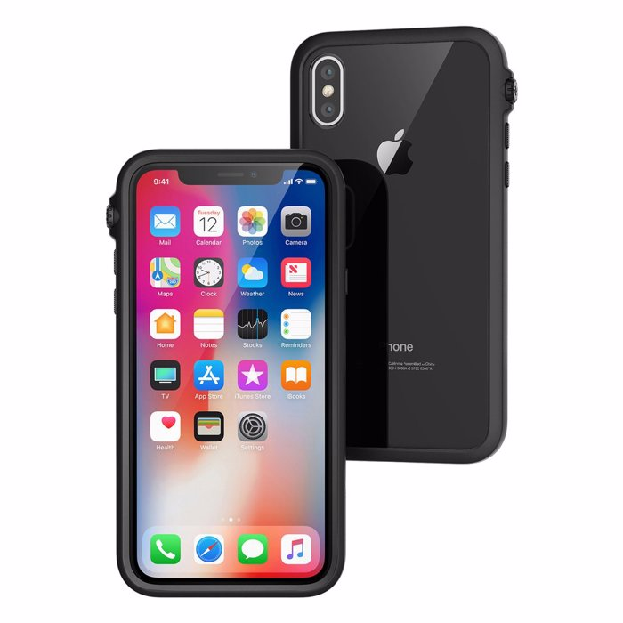 Catalyst Impact Protection ga iPhone X/XS. Stealth Black