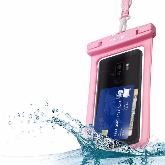 Spigen Velo A600 Waterproof Phone Case. Pink