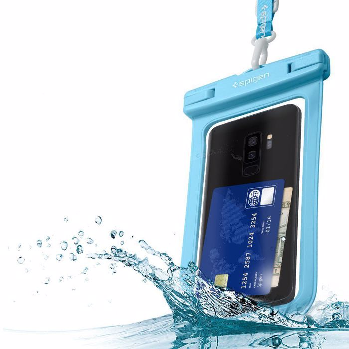 Spigen Velo A600 Waterproof Phone Case, Blue
