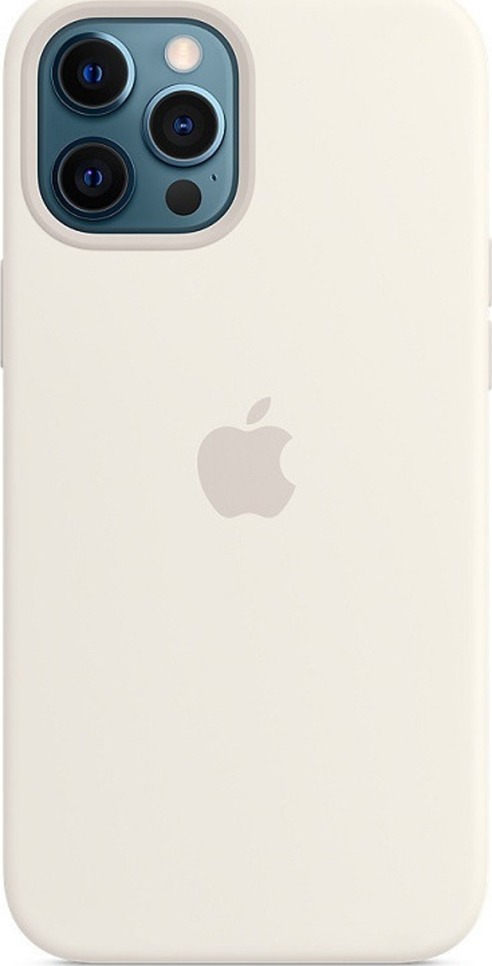 Apple Silicone Case with MagSafe for iPhone 12 Pro Max. White